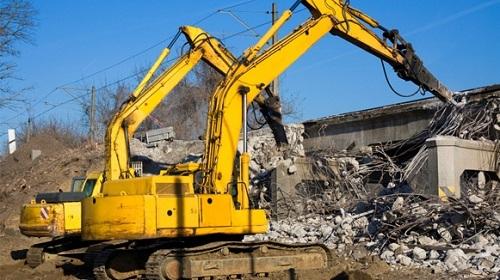 Phá dỡ công trình Huyện Củ chi